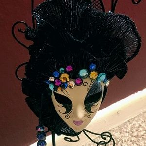 Other - Masquerade-Themed Jewelry Holder